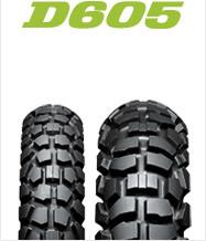 【バイク用フロントタイヤ】 DUNLOP D605F 70/100-19 42P WTダンロップ・D605・フロント用※KAWASAKI KLX125(2010年式~)用フロントタイヤ商品番号291867