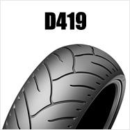 DUNLOP D419 240/40R18 M/C 79V TLダンロップ・D419・リア用※ラジアル構造・ブラックサイドウォール商品番号275839