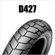 DUNLOP D427 180/70B16 M/C 77H TL リア用 ダンロップ・D427ブラックサイドウォール商品番号281865