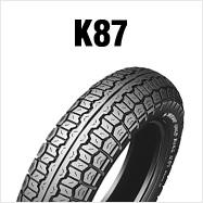 邓禄普 K 87 4.00 MK 2 H 18 4PR (64 H) WT 邓禄普,K87,后方为产品编号 111577 轮胎 4.00 18 H 范围