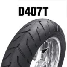 DUNLOP D407T 180/65B16 M/C 81H TL リア用 ダンロップ・D407T ブラックサイドウォール商品番号311255