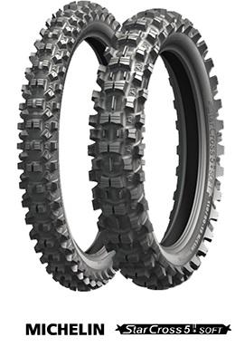R Michelin 110//100-18/TT 64/M STARCROSS 5/Soft