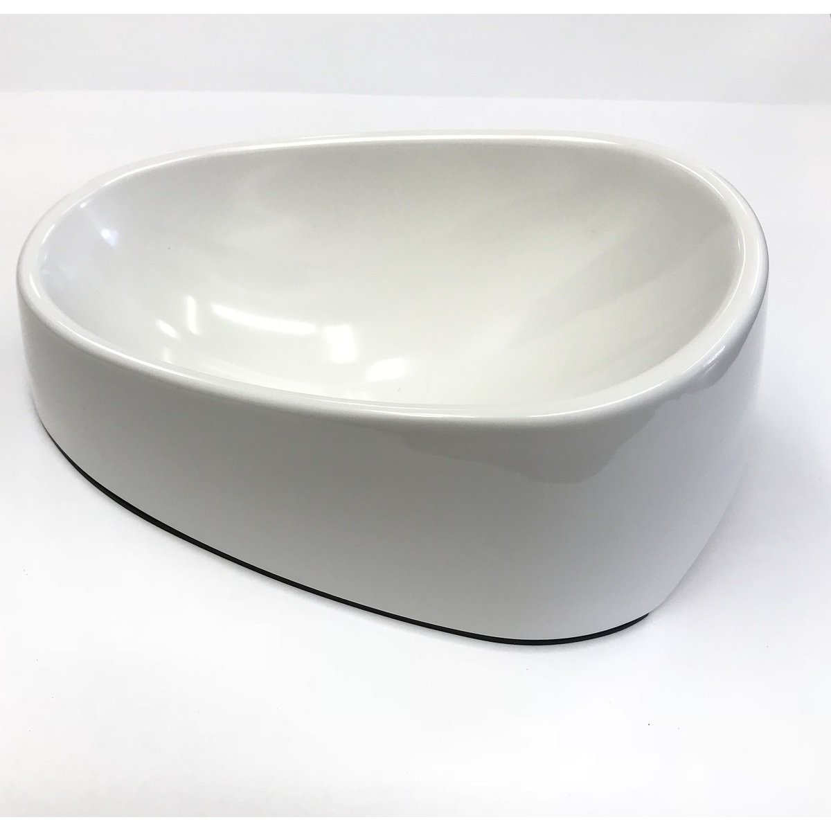 トムキャット [食器]オーバルボウル L/ホワイト×12入【送料無料】
