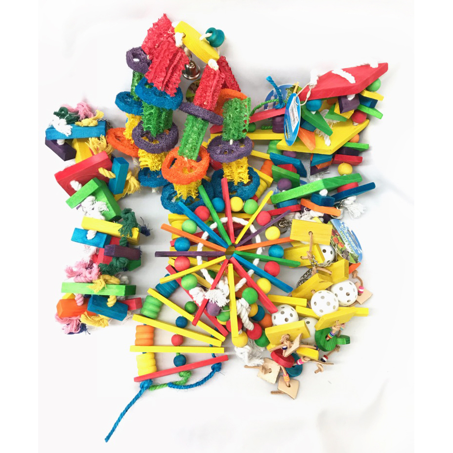 VAN PET 鳥さんのおもちゃ アソートセット (1~6詰合せ)【送料無料】