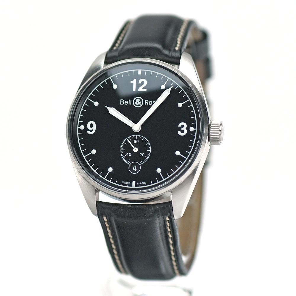 ベル&ロス Bell&Ross 紳士用腕時計 ジュネバ123 スモールセコンド オートマチック 自動巻 メンズ 【中古】