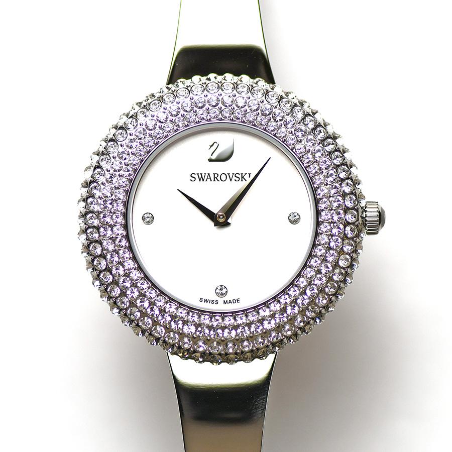 15時までの決済で即日発送 最短で翌日届きます SWAROVSKI スワロフスキー Crystal Rose クリスタルローズ ウォッチ 奉呈 クォーツ 婦人用 5483853 レディース 中古 全店販売中 女性用 腕時計