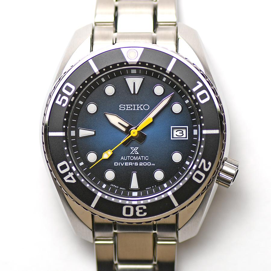 15時までの決済で即日発送 最短で翌日届きます スーパーSALE セール期間限定 SEIKO セイコー お得クーポン発行中 PROSPEX プロスペックス ダイバースキューバ SBDC099 メンズ メカニカル 中古 ネット流通限定モデル 男性用 腕時計