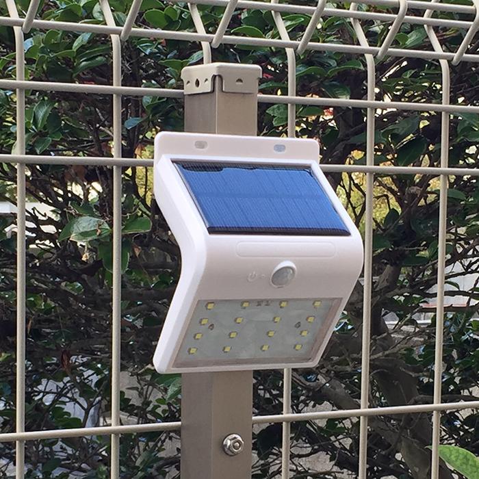 ソーラーセンサライト ソーラーライト 16LED お気に入り 1個 在庫あり