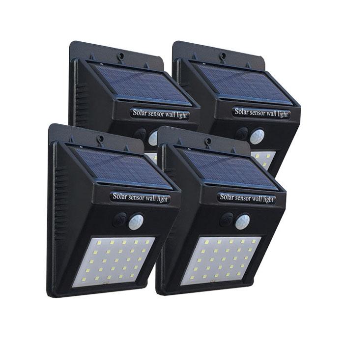 3種点灯モード ソーラーライト 期間限定今なら送料無料 バーゲンセール センサーライト 人感センサー 屋外 防雨 防犯ライト 人感ライト 42LED 25LED モーションライト ガーデンライト ソーラーセンサライト 4個セット または