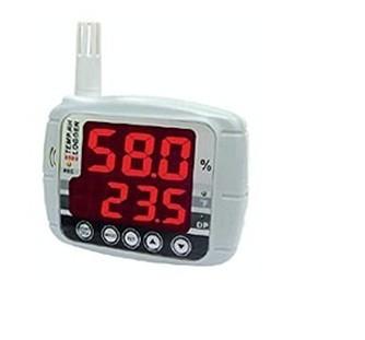 全国送料無料AZ社 データロガー温湿度計(LEDライト)[AZ8809]