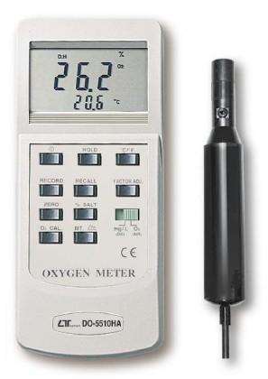 全国送料無料LUTRON社[DO-5510HA]デジタル溶存酸素計 DO-5510HA