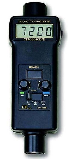 全国送料無料LUTRON社[DT-2259]デジタル回転計 DT-2259 (非接触・ストロボススコープ両用型)