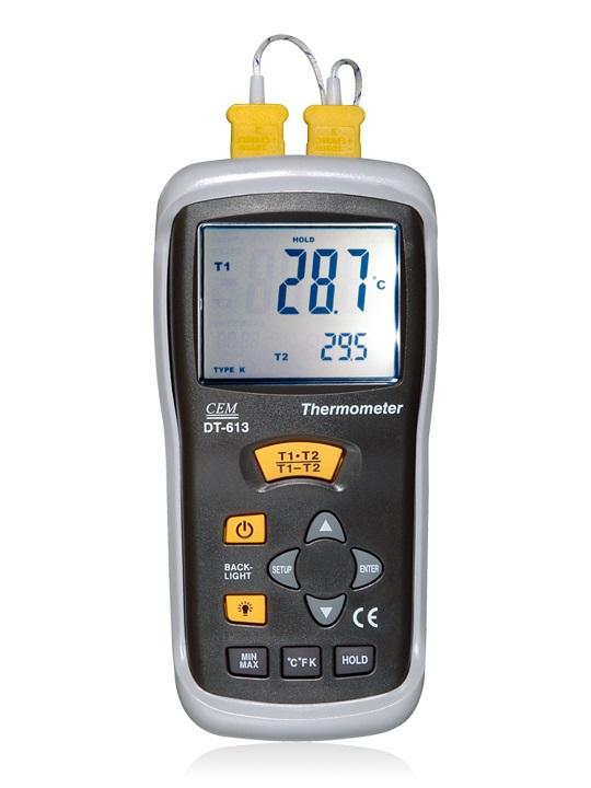 全国送料無料CEM社 ■【正規代理店】[DT-610B]熱電対温度計 DT-610B