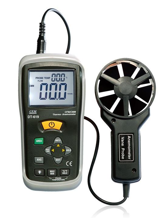 全国送料無料CEM社 [DT-618]温度・風速計DT618