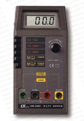 全国送料無料LUTRON社[DW-6060]ワットメーター DW-6060