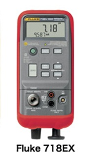全国送料無料FLUKE社[Fluke 718EX 100G]プロセス校正器 圧力校正器 FLUKE 718EX 100G