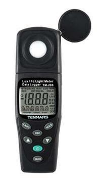全国送料無料TENMARS社[TM-203]データロガー照度計 TM-203