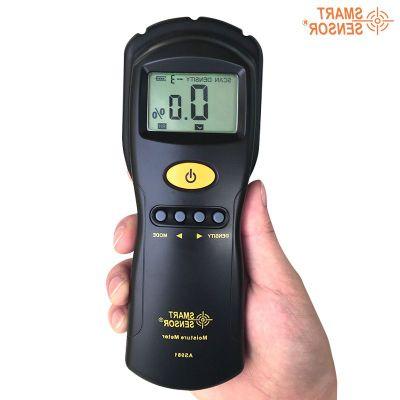 【送料無料】 AS981 非接触式 誘導式 デジタル木材水分計