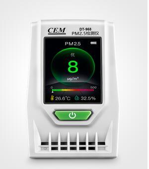 【送料無料】 CEM社 DT-968 卓上型 空気質量 PM2.5 測定器