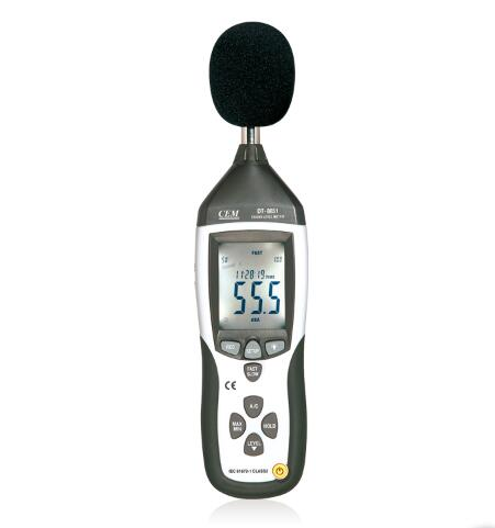 【送料無料】CEM社 DT-8851] 騒音計 DT-8851