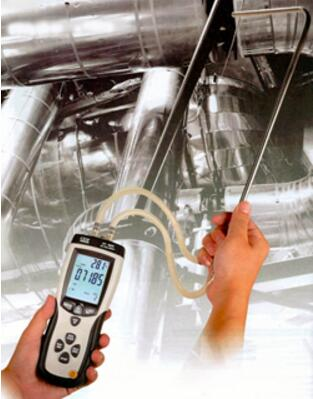 【送料無料】CEM社 ピトー管式 風速計 DT-8920