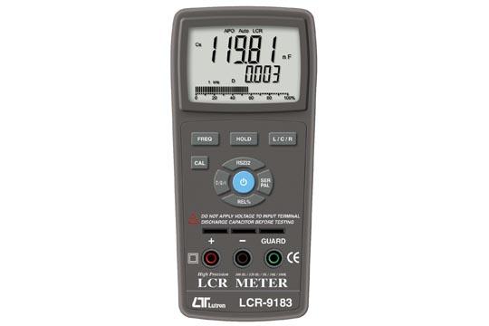 【送料無料】LUTRON社 ハンディタイプスマートLCRメータ LCR-9183