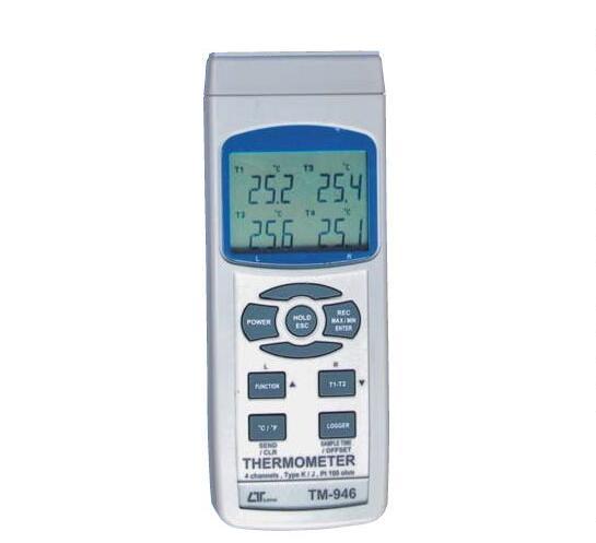 【送料無料】 LUTRON社 4chデータロガー温度計 TM-946
