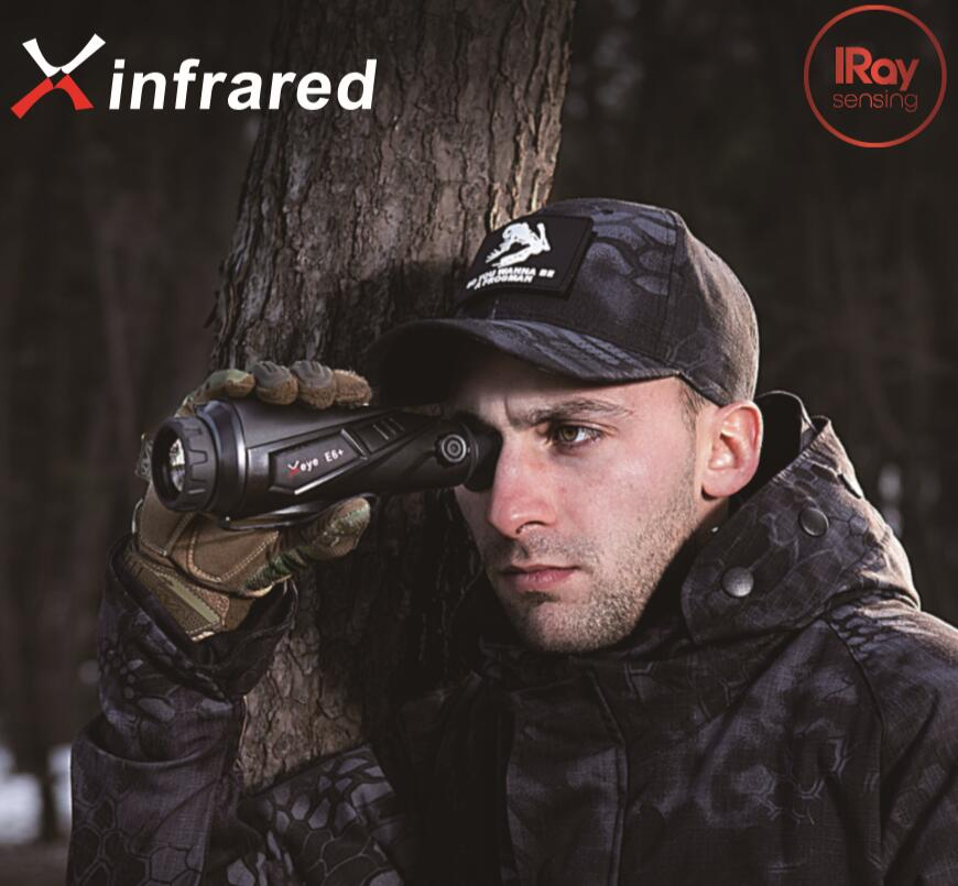 【送料無料】IRAY社 Xeye IIシリーズ サーマルイメージング 暗視スコープ 単眼鏡 E6 Pro
