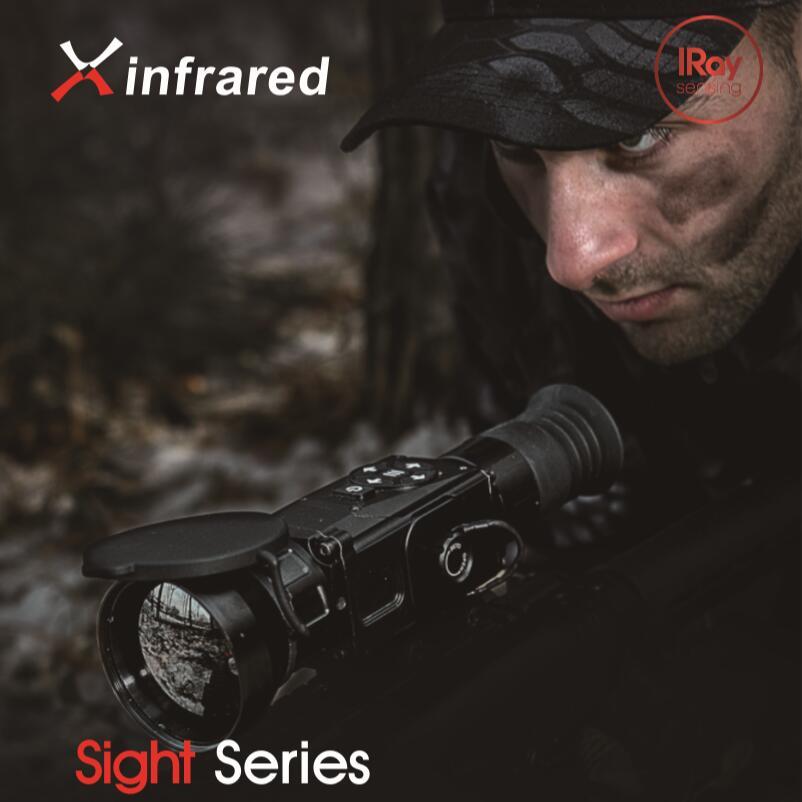 【送料無料】IRAY社 Xsightシリーズ サーマルイメージング赤外線ライフルスコープ 暗視スコープ 単眼鏡 WIFI機能 SL50W