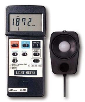 全国送料無料LUTRON社[LX-107]デジタル照度計 LX-107