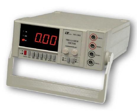 全国送料無料LUTRON社[MO-2002]マイクロオームメーター MO-2002
