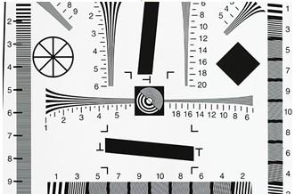 全国送料無料3NH社 ISO12233解像度チャート「NQ-10-400A」