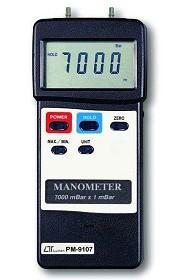 全国送料無料LUTRON社[PM-9107] 圧力計/マノメーター PM-9107