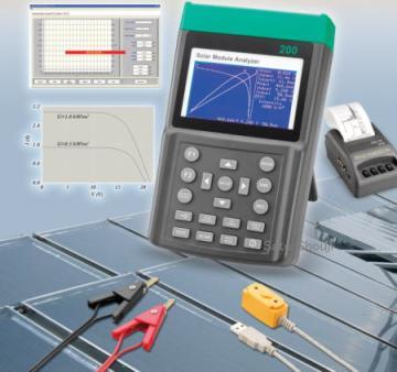 全国送料無料TES社[PROVA 210]ソーラーモジュールアナライザー (光起電I-Vカーブテスター)PROVA 210