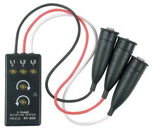 全国送料無料LUTRON社[RT-606]三位相電源位相器 パワーフェイザー RT-606