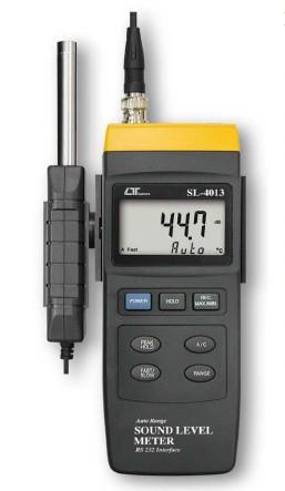 全国送料無料LUTRON社[SL-4013]分離式サウンドレベルメーター騒音計 SL-4013