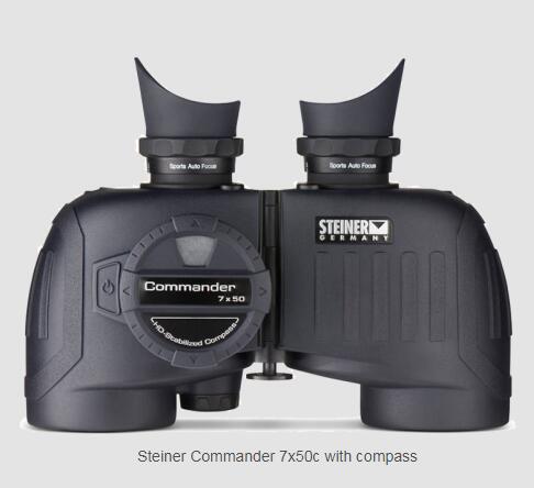 全国送料無料 ドイツSTEINER社(シュタイナー) コマンダー Commander 7x50c 双眼鏡[2305]