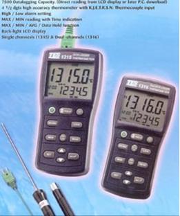 全国送料無料TES社[TES-1313]工業用温度計 TES-1313