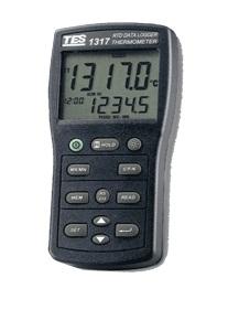 全国送料無料TES社[TES-1317]プラチナRTD温度計 TES-1317