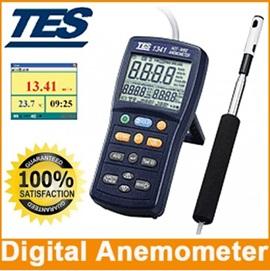 全国送料無料TES社[TES-1341]熱線式風速・風量計(USBインターフェース) TES-1341