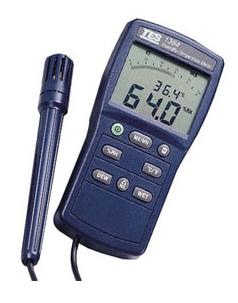 全国送料無料TES社[TES-1364]湿度温度測定器 TES-1364