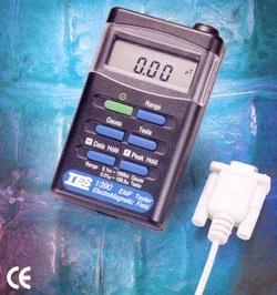 全国送料無料TES社[TES-1392]データロガー付デジタル電磁波計・ガウスメーター TES-1392
