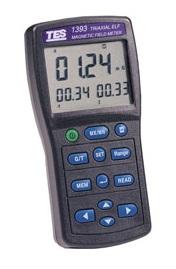 全国送料無料TES社[TES-1393]デジタル電磁波計・電磁界テスタ TES-1393