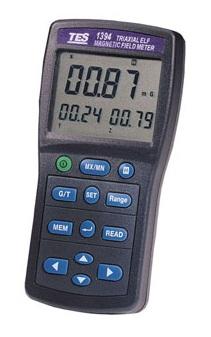 全国送料無料TES社[TES-1394]デジタル電磁波計・電磁界テスタ TES-1394