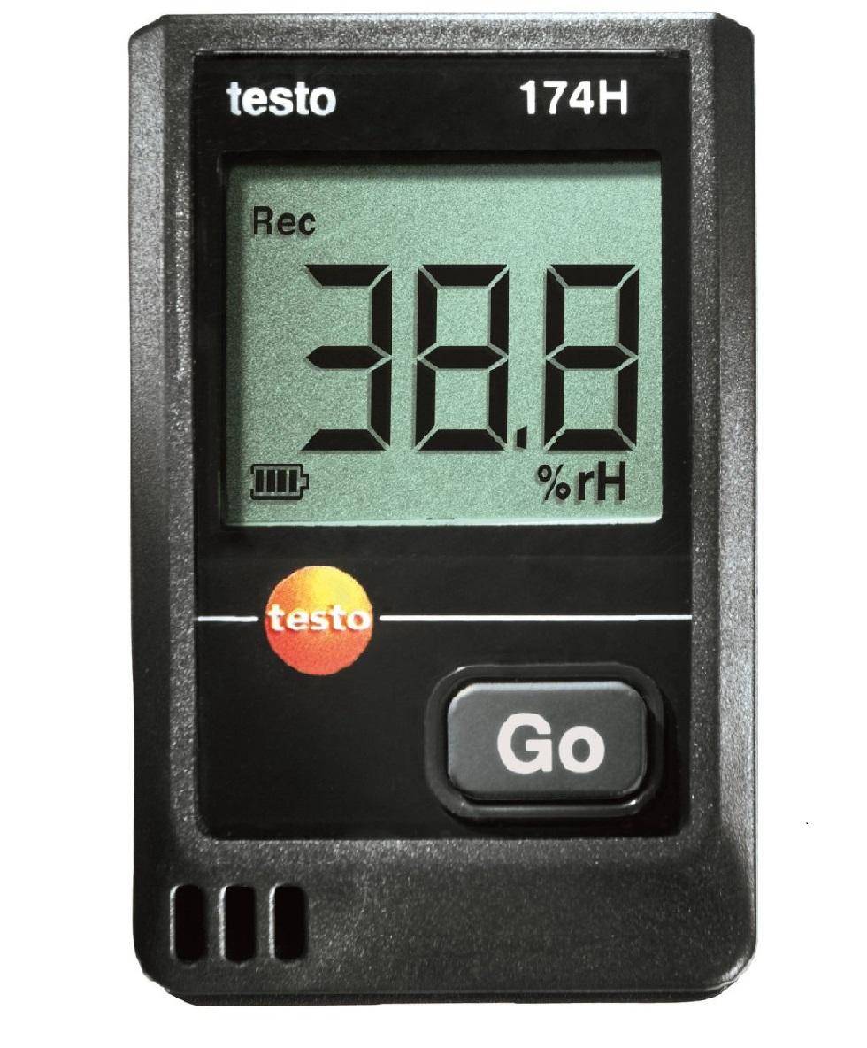 全国送料無料テストー(testo)[testo174H]ミニデータロガ(温湿度)testo174H