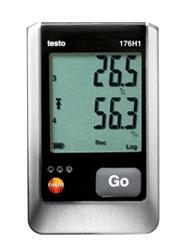 全国送料無料テストー(testo)[testo176H1]外付け 温湿度4点式データロガtesto176H1