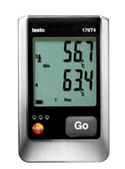 全国送料無料テストー(testo)[testo176T4]外付け 温度4点式データロガtesto176T4