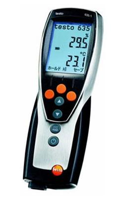全国送料無料です 買物 メーカー品質保証対応 全国送料無料テストー プロフェッショナルクラス温湿度計 testo 格安店 testo635-2