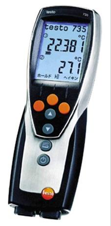 全国送料無料テストー(testo)[testo735-2]プロフェッショナルクラス温度計 testo735-2
