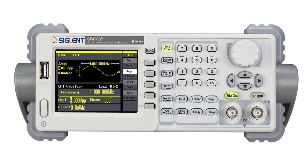 【送料無料】SIGLENTシグレントSDG800シリーズ 関数/任意波形発生器 SDG805